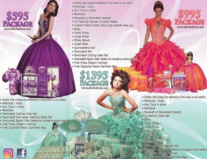 quinceanera packages