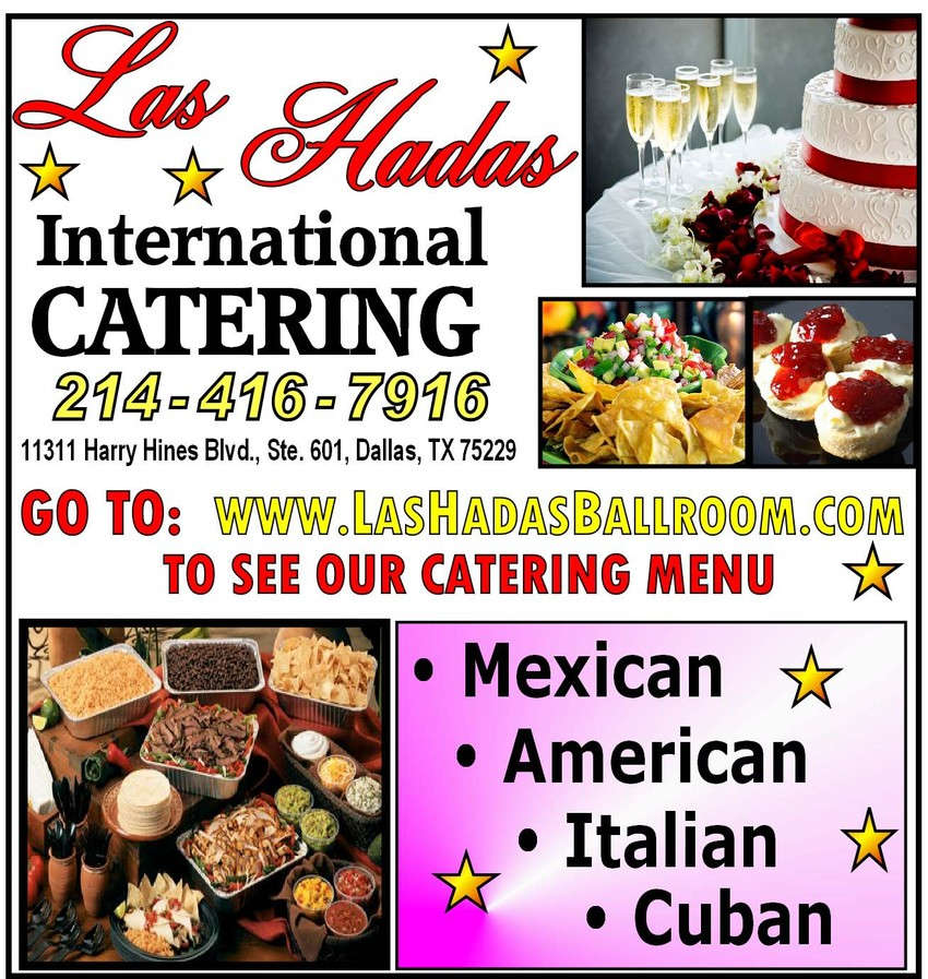 las hadas ballrooms dallas catering